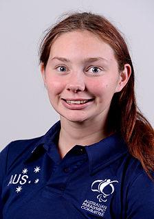 Maddison Elliott Australian Paralympic swimmer