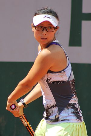 Xu Yifan - Xu Yifan at the 2015 French Open