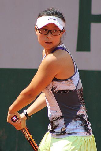 Xu Yifan - Xu Yifan at the 2015 French Open