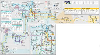 Yuma County Area Transit - YCAT System Route Map - Effective January 14, 2013