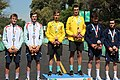 YOG2018 Cycling Men's Combined Criterium - Victory Ceremony 36.jpg