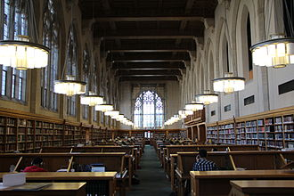 Yale University Library - Law Library main reading room