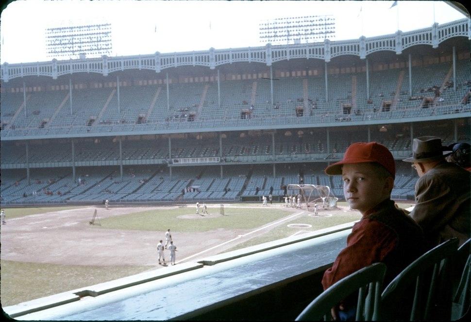 Yankee Stadium Color 1959
