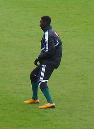 Yannick Bolasie - Bolasie training with Plymouth Argyle in 2010