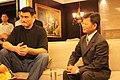 Yao Ming and Yang Chiu-hsing 20100726.jpg