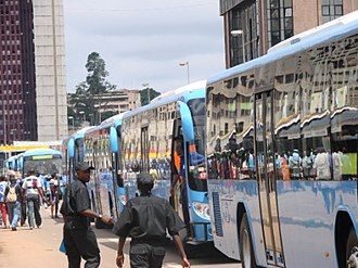 Transport in Cameroon - Buses in Yaoundé