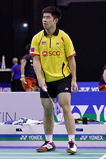 Nipitphon Phuangphuapet Badminton player