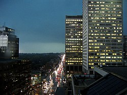 Skyline of Yonge−Eglinton