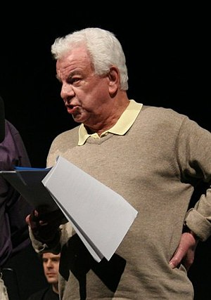 Barry Cryer - Cryer during a recording of You'll Have Had Your Tea for BBC Radio 4 in 2006