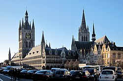 Skyline of Ypres