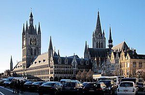 Ypres - Image: Ypres grand place