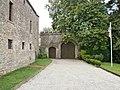 Yvetot-Bocage - Château de Servigny, portail.JPG