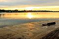 Zachód słońca na nabrzeżu Angary w Irkucku 06.JPG