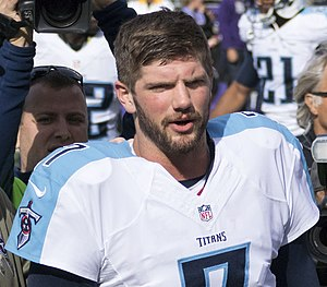 Zach Mettenberger - Mettenberger with the Titans in 2014