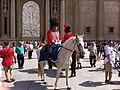 Zaragoza - Turistas y Figurantes vestidos de soldados de la Guerra de la Independencia 03.jpg