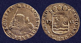 Zuytdorp - Recovered coins struck in 1711