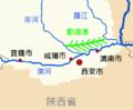 Zhengguo Canal Map zh.png