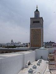 """Η εικόνα """"http://upload.wikimedia.org/wikipedia/commons/thumb/6/6a/Zitouna_minaret.jpg/180px-Zitouna_minaret.jpg"""" δεν μπορεί να προβληθεί επειδή περιέχει σφάλματα."""