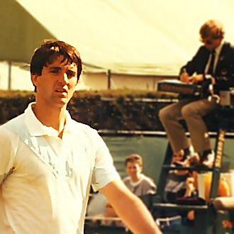 Slobodan Živojinović - Živojinović at Wimbledon in the 1980s