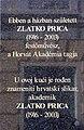 Zlatko Prica born house mem tablet.JPG