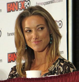 Zoie Palmer - Palmer during a Lost Girl Panel  at FanExpo 2012