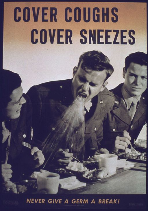 """Cover Coughs, Cover Sneezes"" - NARA - 514081"