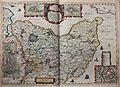 """Wagriae pars septentrionalis cum prefectura Cismar et Oldenburgh - Iohannes Mejer; Christian Lorensen... sculps."" (22258184575).jpg"