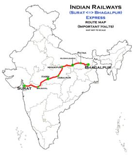 Surat–Bhagalpur Express