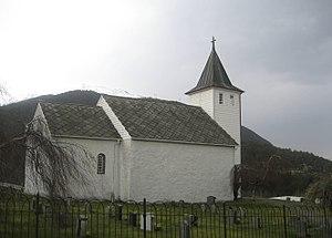 Ænes Church - Image: Ænes kirke Kvinnherad