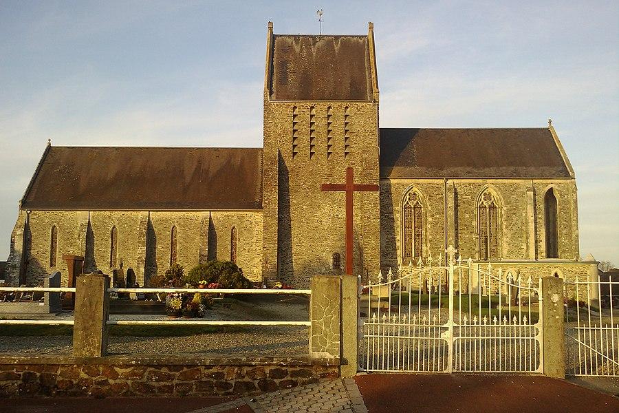 Église Notre-Dame de fr:Couvains (Manche)