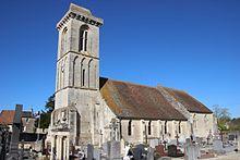 Église Saint-Vigor de Reviers en avril 2017.jpg