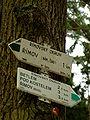 Římov, pašijová cesta, turistické značení.jpg