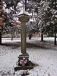 Žďár nad Sázavou - boží muka u nového hřbitova (původně u silnice na Dolní Hamry) (2).JPG