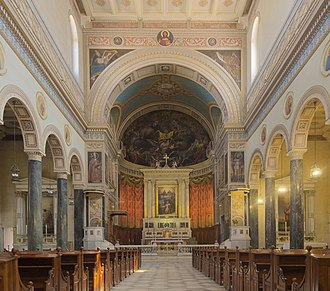 Cathedral Basilica of St. Dionysius the Areopagite - The interior of the church