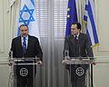Συνάντηση ΥΠΕΞ κ. Δ. Δρούτσα με τον ΥΠΕΞ του Ισραήλ κ. A. Liberman - FM D. Droutsas meets with Israeli FM A. Liberman (5348594661).jpg