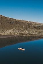Байдарка на озеро Догяска.jpg