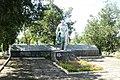 Братська могила радянських воїнів, с. Вершина Друга, біля клубу, Більмацький р - н, Запорізька область.jpg