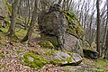 """Брила граніту на території пам'ятки """"Скеля Коцюбинського"""" P1350422.jpg"""
