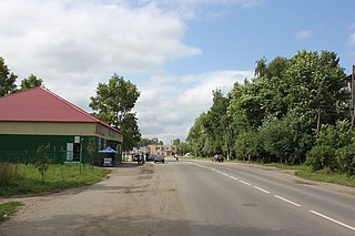 Privolzhsk Town in Ivanovo Oblast, Russia