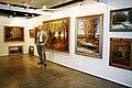 В. Метелкин на выставке в Украинском доме (Киев, март 2010 года).jpg