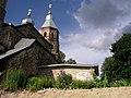 Казанская церковь, с. Смольнево, вид со стороны бытовых пристроек.JPG