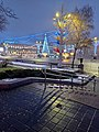 Кастрычніцкая плошча ў Менску. 25 снежня 2020 году.jpg