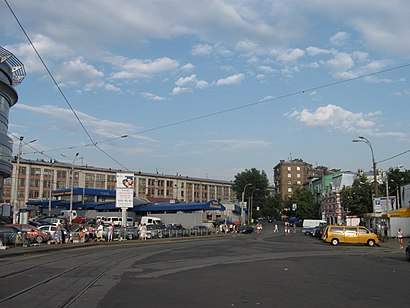 How to get to Лук'Янівська Площа with public transit - About the place
