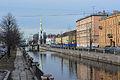 Набережная Крюкова канала. Вид на колокольню Николо-Богоявленского Морского собора со Смежного моста.jpg