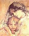 Никола Маринов - Майка с дете (1917).jpg