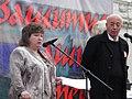Ольга Леткова и С.Е. Кургинян на Митинге против ювенальной юстиции 22.09.2012.jpg