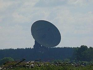 Радиотелескоп центра космической связи