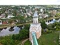 Свечная башня в Борисоглебском монастыре г.Торжка, Тверская область.JPG