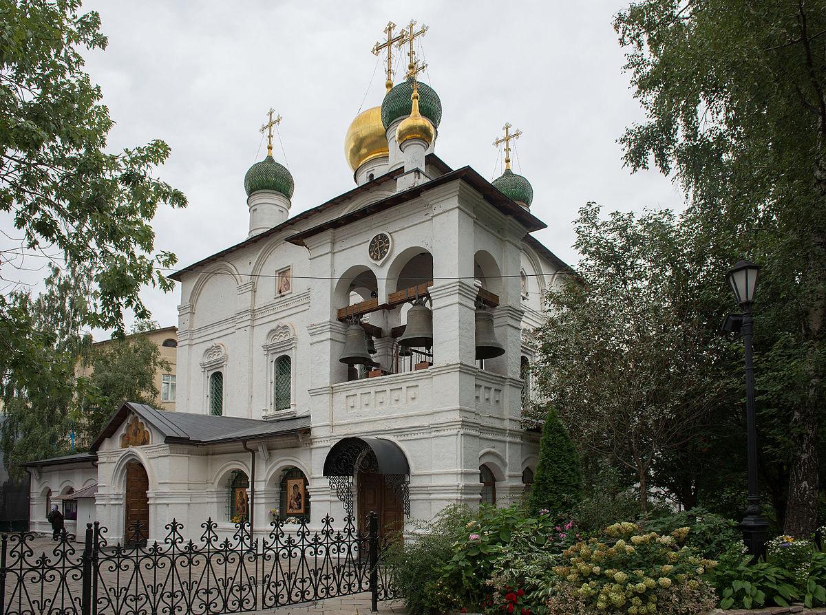 Сретенский монастырь (Москва) — Википедия