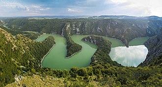 Sjenica - Image: Специјални резерват природе Увац 001